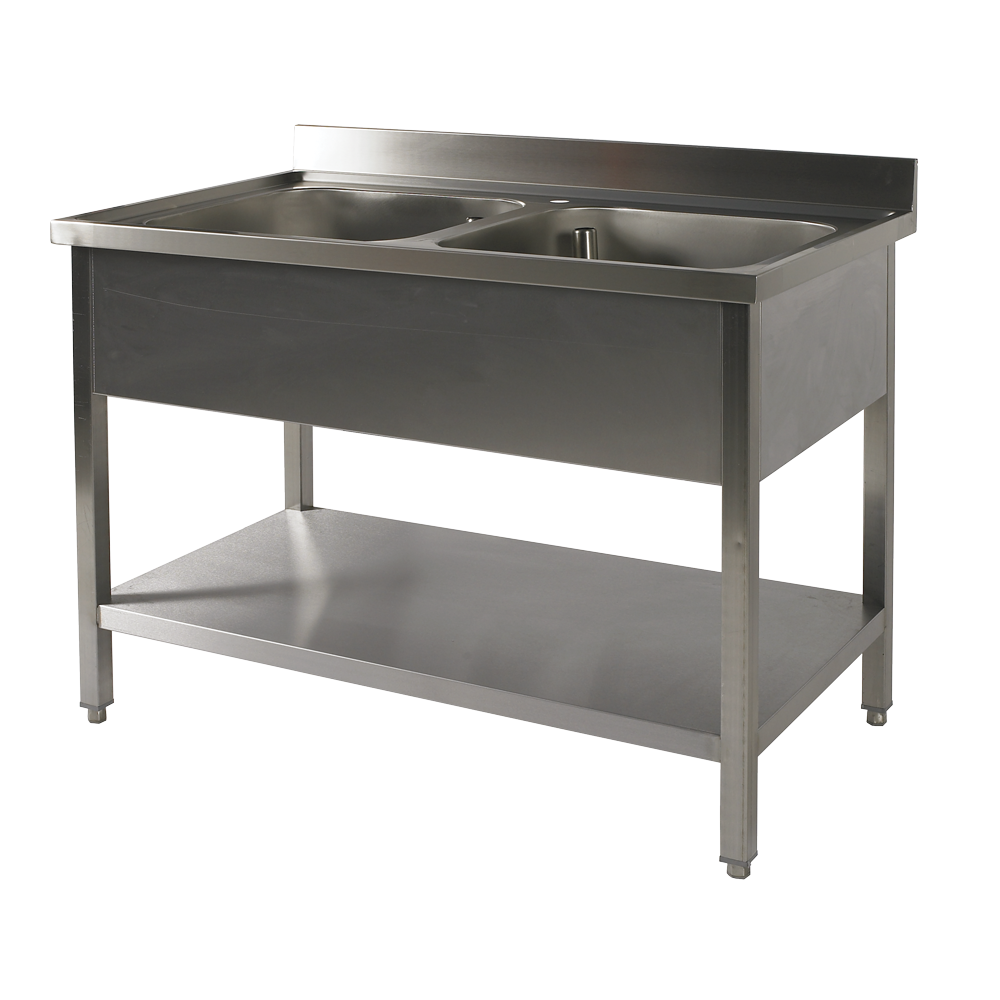 PL: 2 BASINS WITH UNDERSHELF