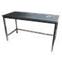 TTVO: WORK TABLES WITH WASTE CHUTE HOLE