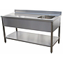 TCDX/1: CHEF TABLE BASIN RIGHT+TI